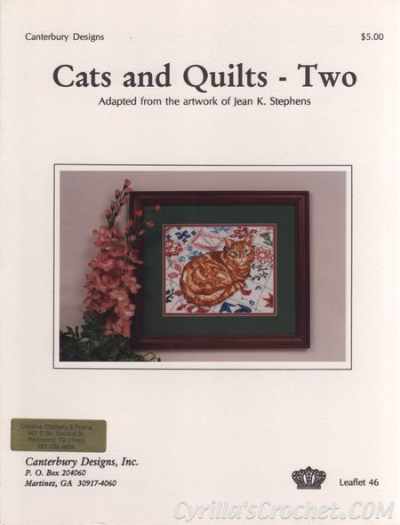 Cat's and Quilts - Two