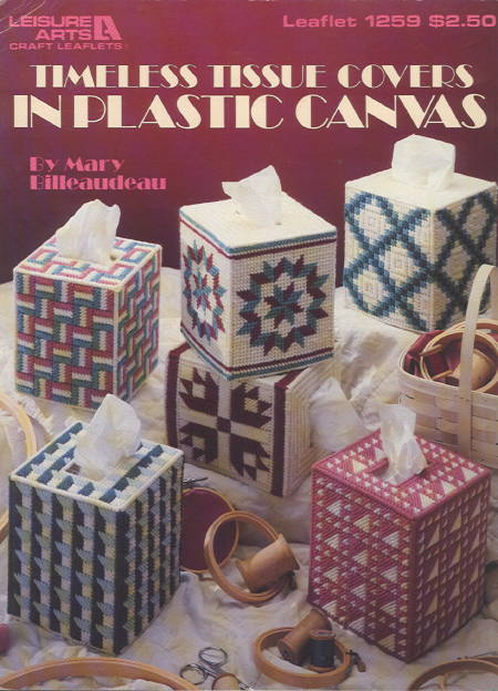 TIMELESS TISSUE COVERS IN PLASTIC CANVAS