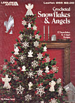 Crocheted Snowflakes & Angels