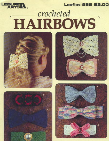 Crocheted Hairbows