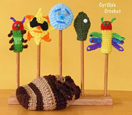 The Very Hungry Caterpillar Finger Puppet Set