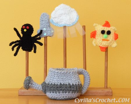 The Itsy Bitsy Spider Finger Puppet Set