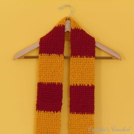 Crochet Patterns Harry Potter Scarf Free Crochet Patterns