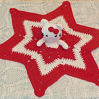 Hello Kitty Security Blanket