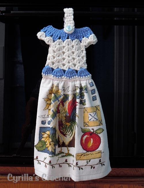 Crochet Patterns Kitchen Towels Crochet Club