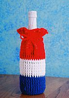 France Flag Wine Gift Bag