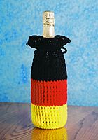 Germany Flag Wine Gift Bag