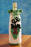 Green Grape Wine Gift Bag