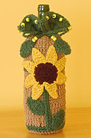 Sunflower Wine Gift Bag
